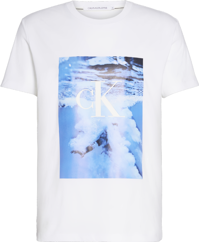 WAVE PHOTOPRINT TEE